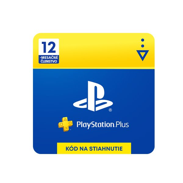 PlayStation Plus Gift Card 12 Month Membership (SK)