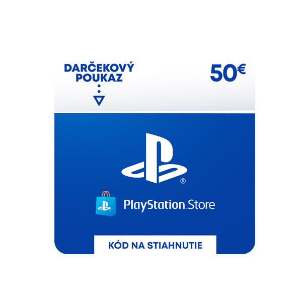 PlayStation Store 50€ - elektronická peňaženka