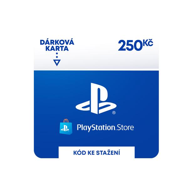 PlayStation Store - darčekový poukaz 250 Kč