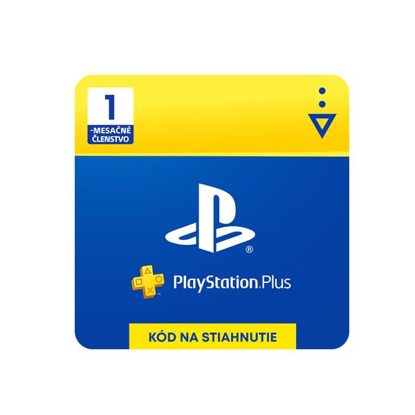 PlayStation Plus 1 mesiac - darčeková karta SK
