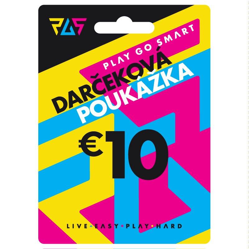 Darčeková poukážka 10€
