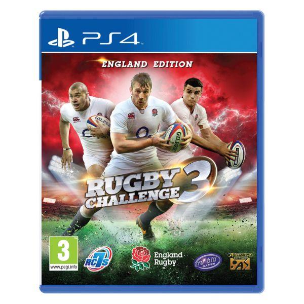 Rugby Challenge 3 (England Edition)  [PS4] - BAZÁR (použitý tovar)