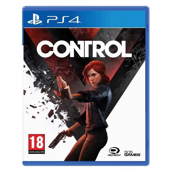 Control [PS4] - BAZÁR (použitý tovar)