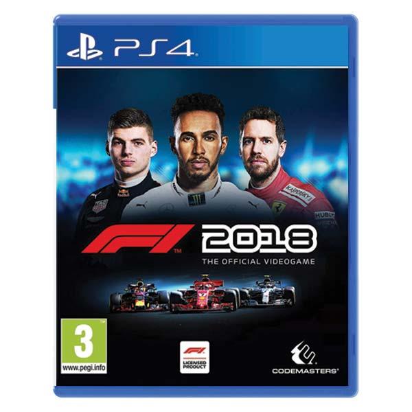 F1 2018: The Official Videogame  [PS4] - BAZÁR (použitý tovar)
