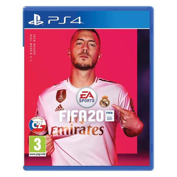 FIFA 20 CZ [PS4] - BAZÁR (použitý tovar)