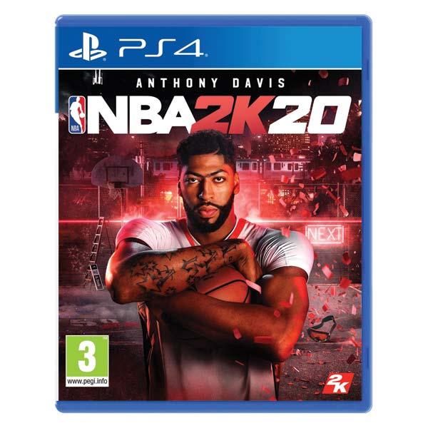 NBA 2K20 [PS4] - BAZÁR (použitý tovar)
