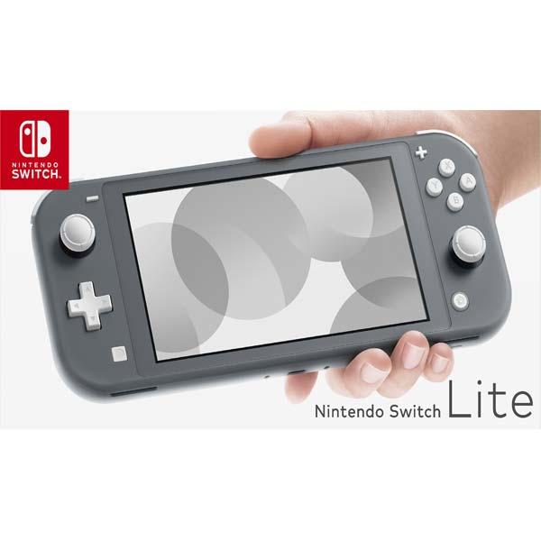 Nintendo Switch Lite, grey  - BAZÁR (použitý tovar)
