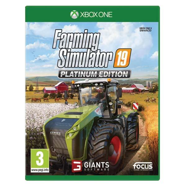 Farming Simulator 19 CZ (Platinum Edition) [XBOX ONE] - BAZÁR (použitý tovar)