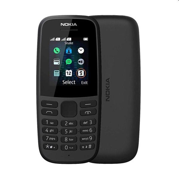 Nokia 105 (2019), Dual SIM, black