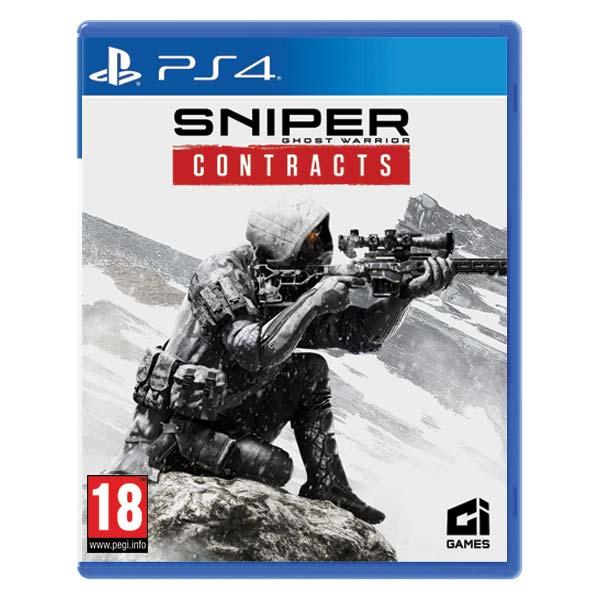 Sniper Ghost Warrior: Contracts CZ [PS4] - BAZÁR (použitý tovar)