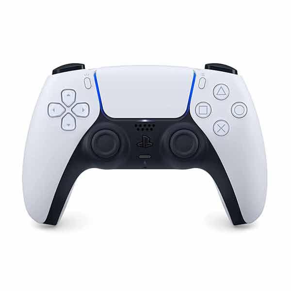 PlayStation 5 bezdrôtový ovládač DualSense, čierno-biely