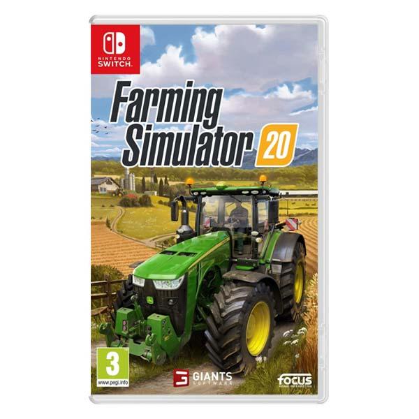 Farming Simulator 20 [NSW] - BAZÁR (použitý tovar)