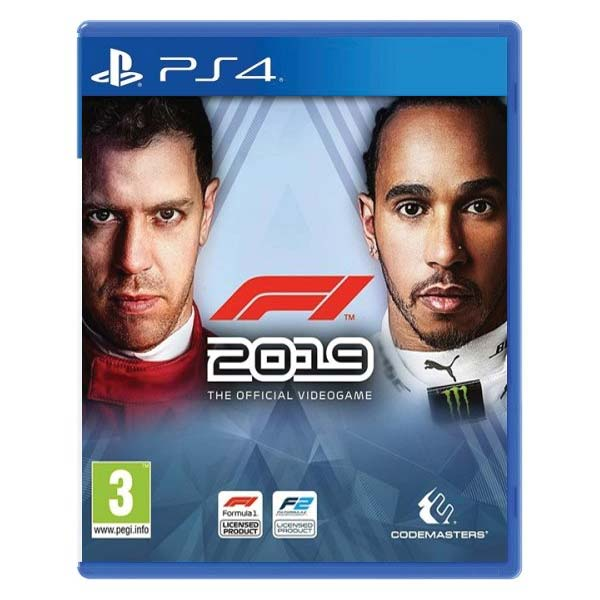F1 2019: The Official Videogame [PS4] - BAZÁR (použitý tovar)