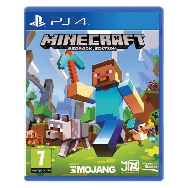 Minecraft (Bedrock Edition) [PS4] - BAZÁR (použitý tovar)