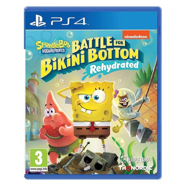 SpongeBob SquarePants: Battle for Bikini Bottom (Rehydrated) [PS4] - BAZÁR (použitý tovar)