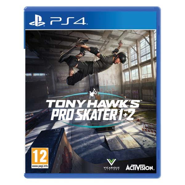 Tony Hawk's Pro Skater 1+2 [PS4] - BAZÁR (použitý tovar)