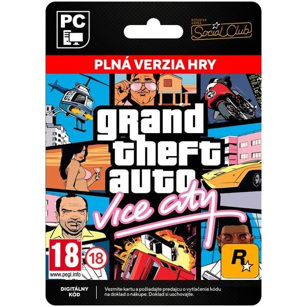 Grand Theft Auto: Vice City [Social Club]