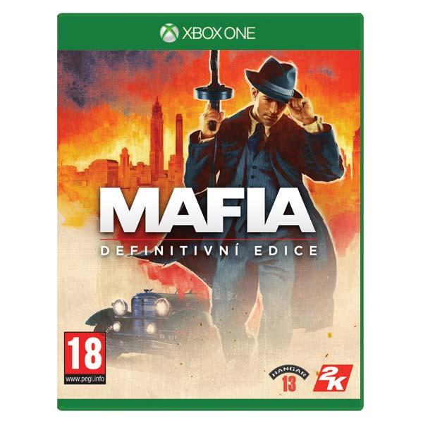 Mafia CZ (Definitive Edition) [XBOX ONE] - BAZÁR (použitý tovar)