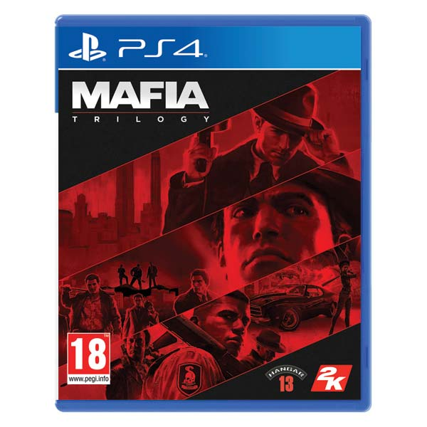 Mafia Trilogy CZ [PS4] - BAZÁR (použitý tovar)