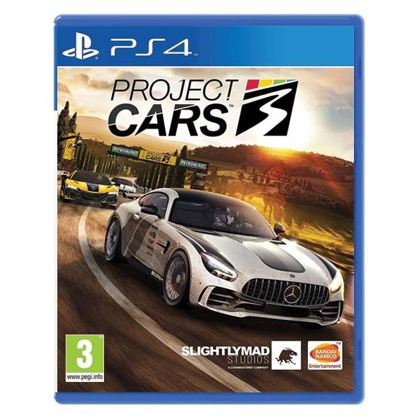 Project CARS 3 [PS4] - BAZÁR (použitý tovar)