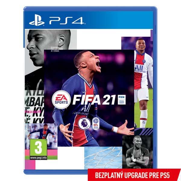FIFA 21 CZ [PS4] - BAZÁR (použitý tovar)