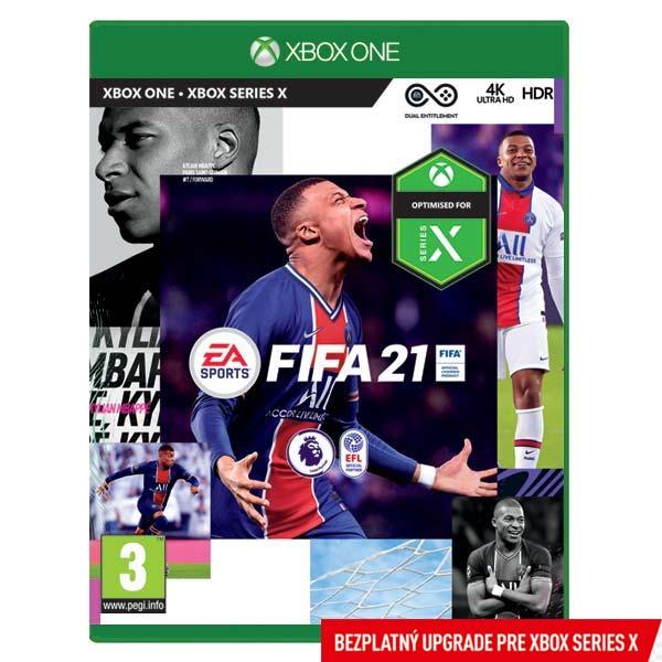 FIFA 21 CZ [XBOX ONE] - BAZÁR (použitý tovar)