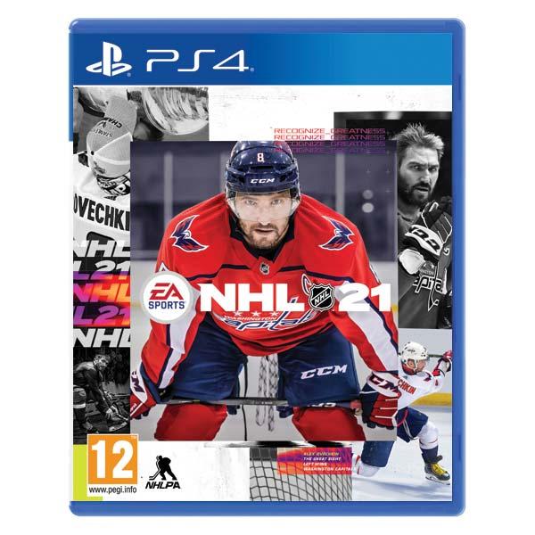 NHL 21 CZ [PS4] - BAZÁR (použitý tovar)