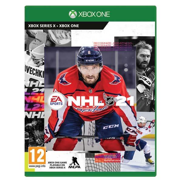 NHL 21 CZ [XBOX ONE] - BAZÁR (použitý tovar)