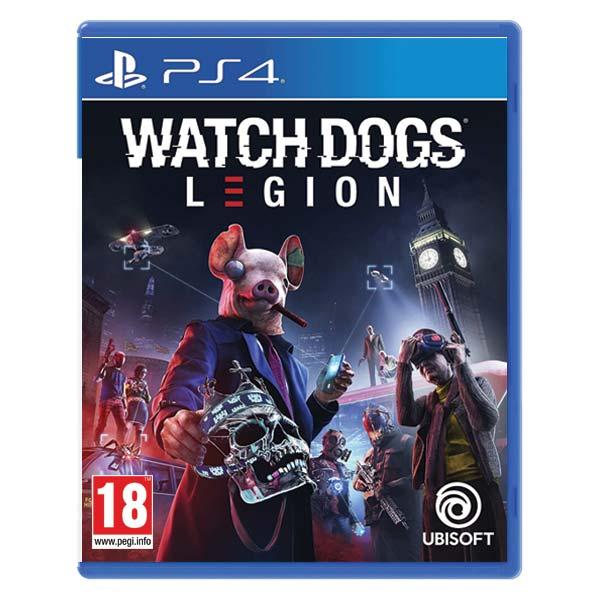Watch Dogs: Legion [PS4] - BAZÁR (použitý tovar)