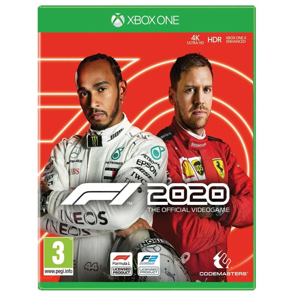 F1 2020: The Official Videogame [XBOX ONE] - BAZÁR (použitý tovar)