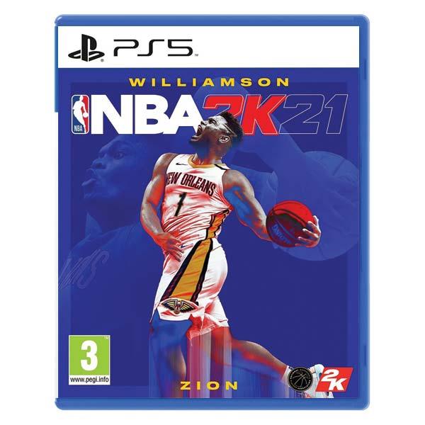 NBA 2K21 [PS5] - BAZÁR (použitý tovar)
