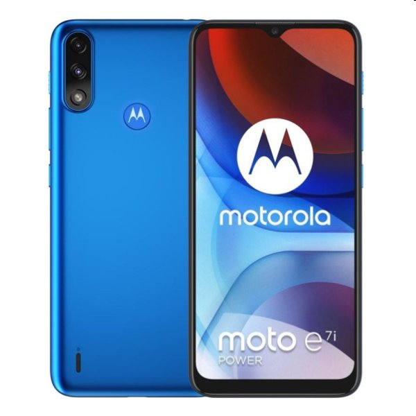 Motorola Moto E7 Power, 4/64GB, tahiti blue