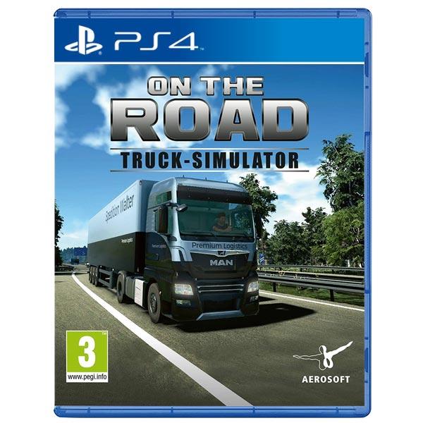 On the Road: Truck Simulator [PS4] - BAZÁR (použitý tovar)