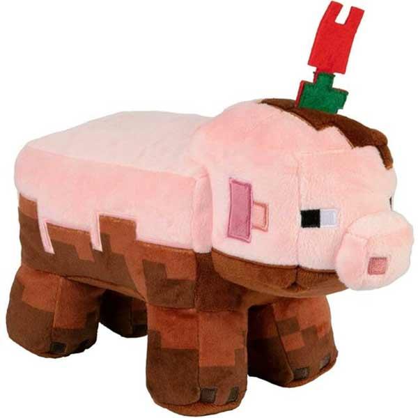 Plyšák Earth Adventure Muddy Pig (Minecraft)