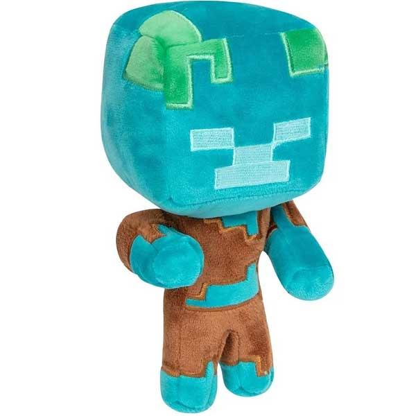 Plyšák Happy Explorer Drowned (Minecraft)