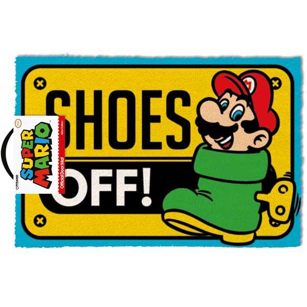 Rohožka Shoes Off Colour (Super Mario)