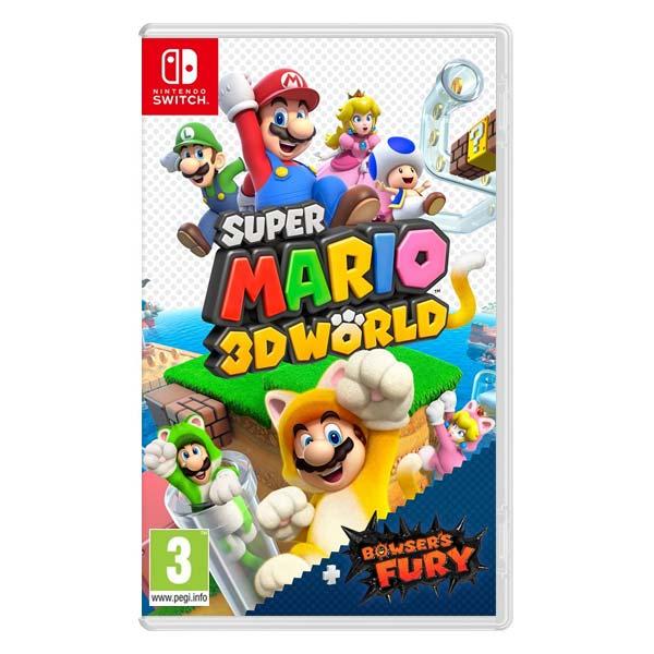 Super Mario 3D World + Bowser's Fury [NSW] - BAZÁR (použitý tovar)