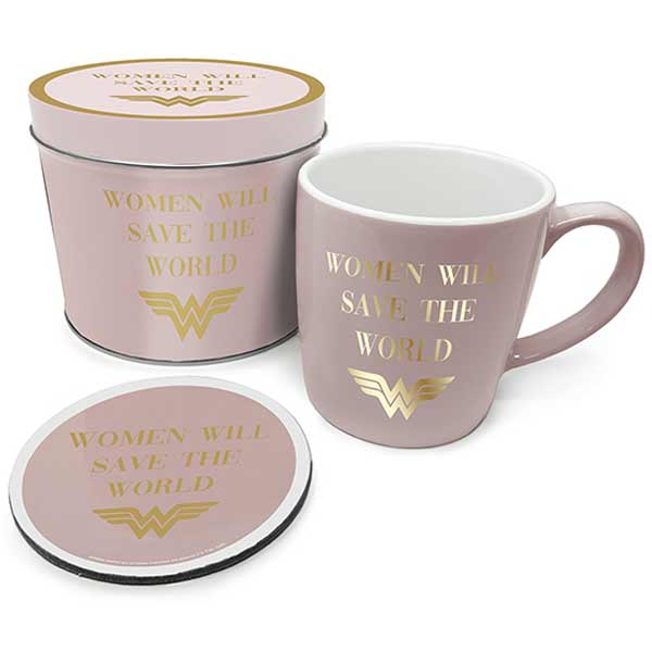 Wonder Woman Women Will Save The World Mug