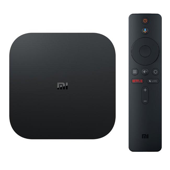Xiaomi Mi TV Box S - 4K HDR, Android TV set-top-box, Black - OPENBOX (Rozbalený tovar s plnou zárukou) 6941059602200