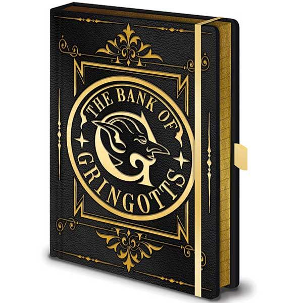 Zápisník Gringotts Premium A5 (Harry Potter)