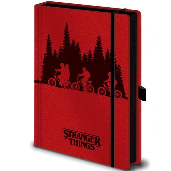 Zápisník Stranger Things Upside Down Premium A5