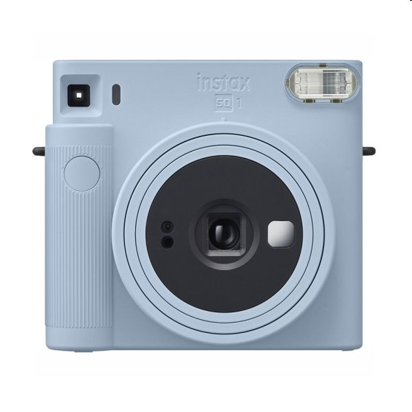 Modrý fotoaparát Fujifilm Instax Square SQ1