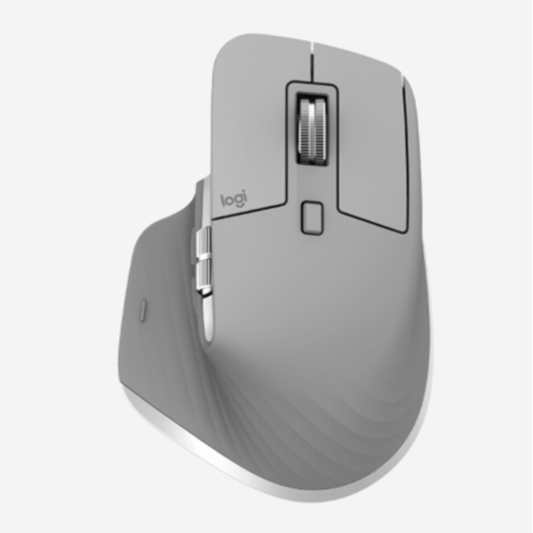 Logitech MX Master 3 Advanced Wireless Mouse - MID Grey - 2.4GHZ/BT