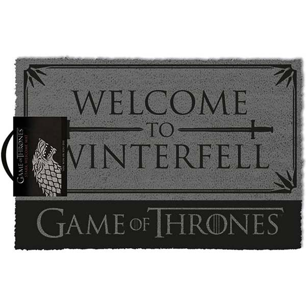 Rohožka Welcome to Winterfell (Game of Thrones)
