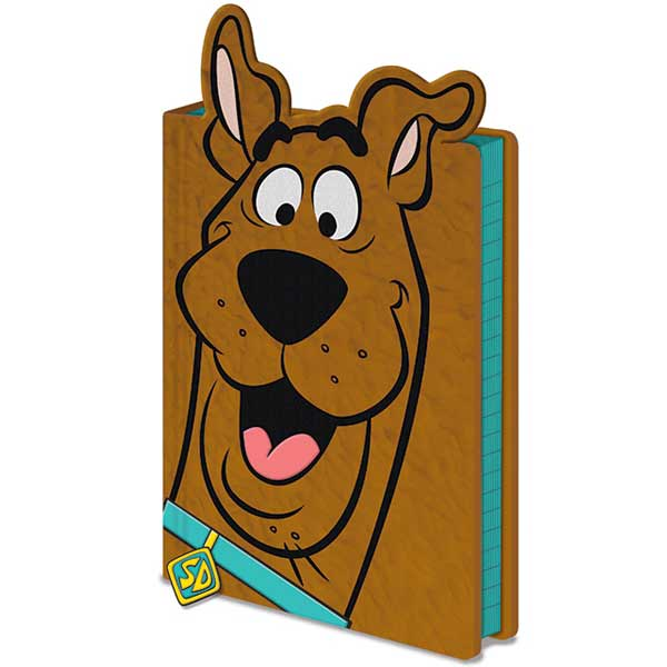 Scooby Doo Ruh Roh Furry Cover Premium A5 Notebook