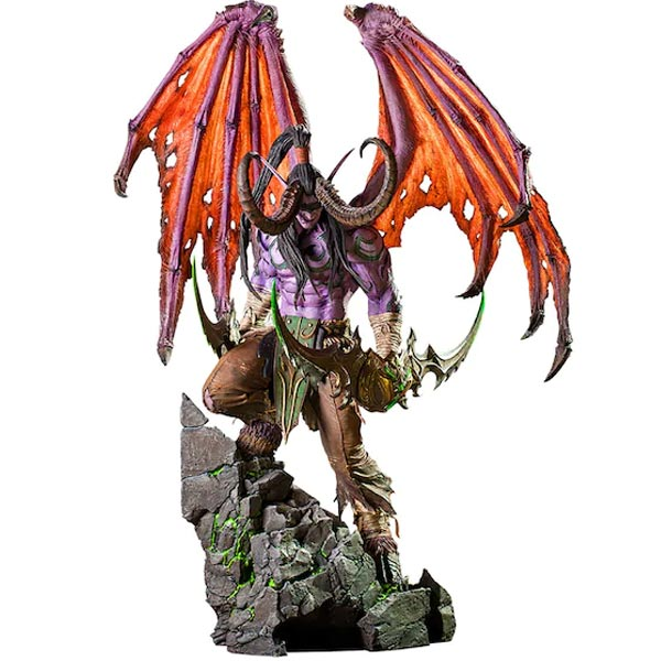Socha Illidan (World of Warcraft) 61 cm