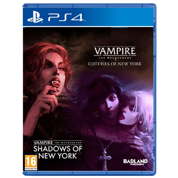 Vampire: The Masquerade - Coteries of New York + Shadows of New York (Collector's Edition)
