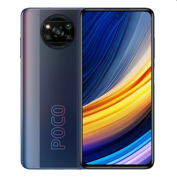 Xiaomi Poco X3 Pro, 6/128GB, phantom black MZB08UKEU