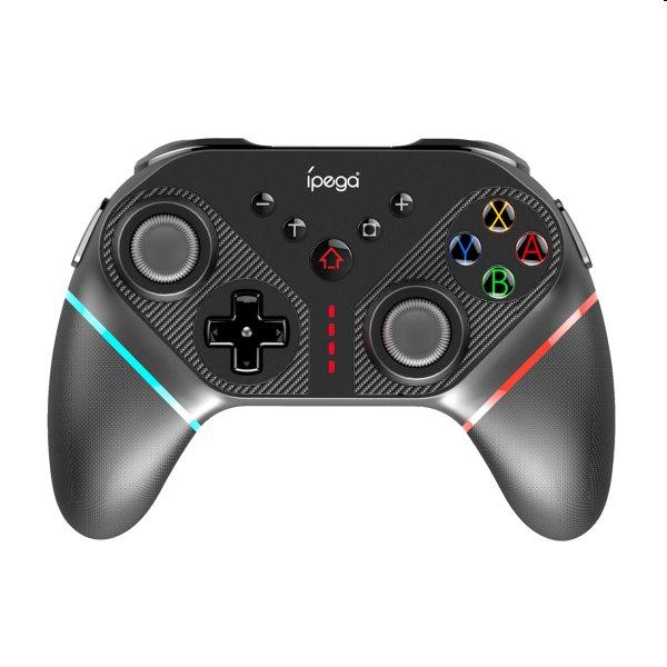 Bluetooth Gamepad iPega SW038A pre Nintendo Switch, black
