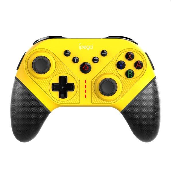 Bluetooth Gamepad iPega SW038C pre Nintendo Switch, yellow